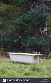 outdoor bathtub an outdoor bath in a clearing in the rothiemurchus forest on the