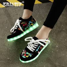 kid shoes aliexpress buy kriativ usb charging kid shoes glowing