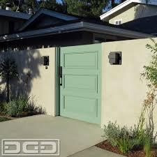 custom designed composite wood garage door u0026 gate project paint
