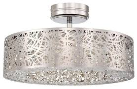 George Kovacs Lighting Fixtures by Minka George Kovacs Hidden Gems Ninety 6 Light Chrome Semi Flush