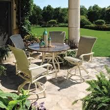 elegant balcony height patio set homecrest patio furniture counter