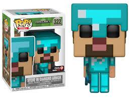 diamond steve gamestop exclusive diamond steve funko pop out now fpn