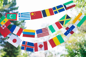 Flag Of All Countries Flag Garlands