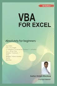 Spreadsheets For Beginners Vba For Excel Absolutely For Beginner Hirdesh Bhardwaj