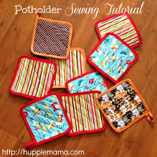 potholder sewing tutorial my mom used to do this all the time