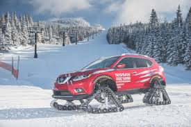 nissan rogue ground clearance nissan rogue warrior conquers frigid canadian winter