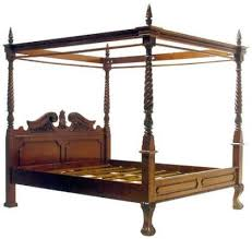 Victorian Canopy Bed Janoko Furniture The Excellence Taste Of Antique Furniture