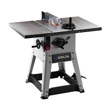 delta table saw for sale shop delta 10 left tilt contractor table saw at lowes com