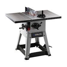 delta 10 inch contractor table saw shop delta 10 left tilt contractor table saw at lowes com