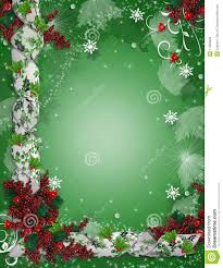 Borders For Invitation Cards Free Christmas Border Ribbons Elegant Holly Royalty Free Stock Image