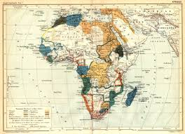 Imperialism Africa Map by 1886 Africa From La Grande Encyclopedia French Scanned Maps