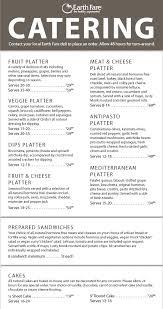 best catering menu template free ideas resume samples u0026 writing