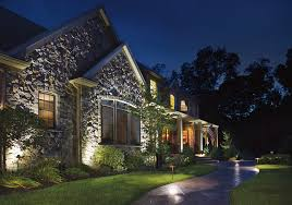 Best Landscaping Lights Lighting Enhances Landscape Use And At Michigan