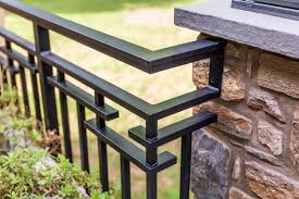 Outdoor Metal Handrails Exterior Railings Gallery Compass Iron Works