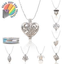 chain necklace design images Exclusive design pearl locket women 39 s oyster drop pendant silver png