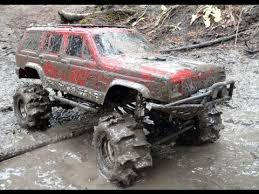 rc adventures stuck in mud swamp bogging in a 4x4 jeep