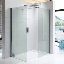 10mm wetroom glass panel 600mm