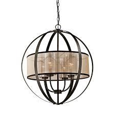 Cage Chandelier Lighting Elk Lighting Diffusion 57029 4 Chandelier Amazon Com