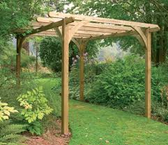 Pergola Ideas Uk by Forest Ultima Wooden Pergola Kit 2 7 X 2 7m Gardensite Co Uk