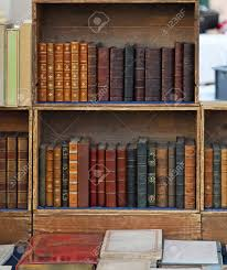 retro style books in old bookcase stock photo picture and royalty
