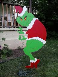 grinch christmas decoration grinch stealing outdoor christmas decorations designcorner