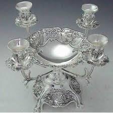 925 sterling silver shabbat candlesticks