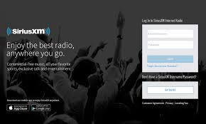 Radio Locator App Siriusxm Player Redirect Siriusxm Radio