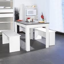 cdiscount table cuisine salt ensemble table à manger de 4 à 6 personnes 2 bancs