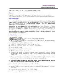 System Administrator Resume Example by Linux Administrator Resume 1 Year Experience Vmware Linux