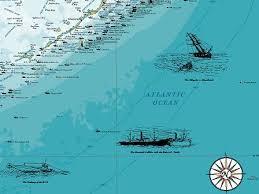 florida shipwrecks map salvor claims to found middle shipwreck