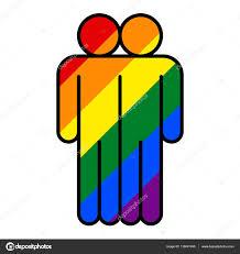 Flag People People Lgbt Movement Rainbow Flag U2014 Stock Vector Ifeelgood