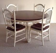 ethan allen table chairs ethan allen country french dining room set with table and 6
