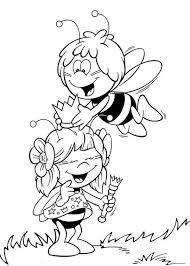 imagenes mayas para imprimir la abeja maya dibujos para imprimir y colorear lamina 3
