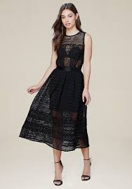 lace dresses white black lace bebe