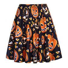 Halloween Shirts For Ladies Halloween Skirt Promotion Shop For Promotional Halloween Skirt On