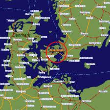 map of copenhagen copenhagen rail maps and stations from european rail guide