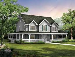 House Plans With Big Porches Big Country Home With Wrap Around Porch And Laundry Room Upstairs