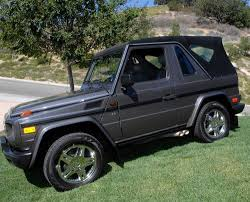 mercedes g wagon convertible for sale purchase used mercedes g500 cabriolet 2 door