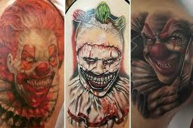 collection of 25 killer clown