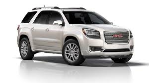 lifted white gmc 2013 gmc acadia denali review notes autoweek