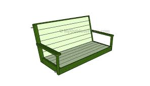 free porch swing plans myoutdoorplans free woodworking plans