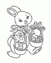 bunny coloring pages printable funny easter bunny and coloring page for kids coloring