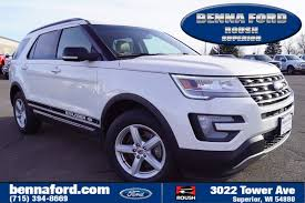 ford explorer ford explorer in superior wi benna ford superior