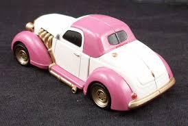 pink glitter car minor repaint jems glitter n gold rockin roadster tfw2005