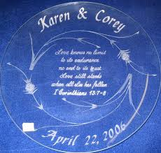 anniversary engraving engraved wedding gifts