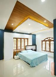 False Ceiling Designs For Bedroom Woody Bedroom With Wooden False Ceiling Design Photos