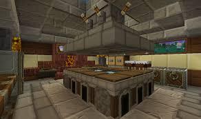 minecraft kitchen furniture minecraft kitchen 1st view minecraft craft