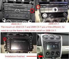 mazda 2008 mazda cx 7 aftermarket gps navigation car stereo 2007 2013