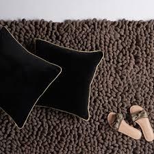 Photo Cushions Online Black U0026 Gold Velvet Cushion Cover Buy Black Cushion Covers Online