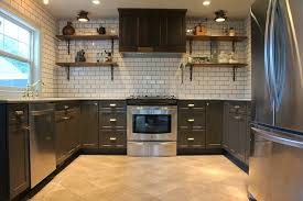 no cabinets in kitchen charcoal gray kitchen cabinets eclectic kitchen chic design